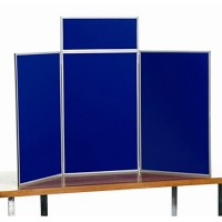 Portrait Table Top Display - Aluminium Frame