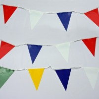 Heavy Duty Outdoor Multi coloured Event Flags 10m