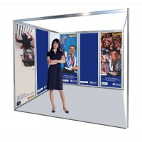 Economy Rollable Hanging banner PVC Shell Scheme Graphics