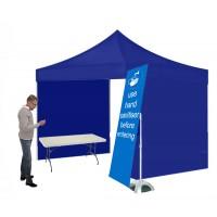 Hand Sanitiser Station Tent Kit