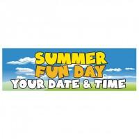 Summer Fun Day - Banner 162
