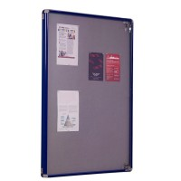 Colour Co-ordinated Tamperproof Aluminium Frame Notice Board