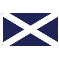 St Andrew's Scottish Flag - 5ft x 3ft - Durable