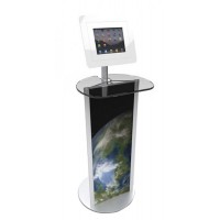Standing iPad Table with Acrylic Top