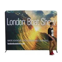 Straight Fabric Display Stand