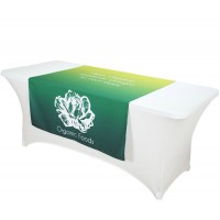 Custom Printed Fabric Table Runner