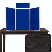 Portrait Table Top Panel Display - Plastic Frame