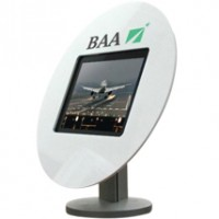 Table Top Tablet/iPad Enclosure & Stand - Choice of Bezel Shapes