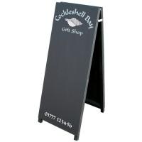 Tall A-Frame Chalk Pavement Sign