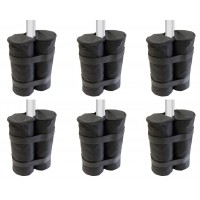 Set of Six Gazebo Sandbags