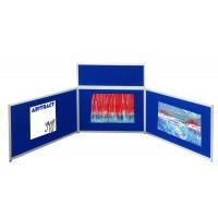 Landscape Table Top Display - Aluminium Frame