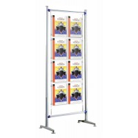 Beat 600 Kit 3 - Floor Standing 8 x A4 Cable Poster Display