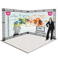 Truss Kit 6 3x3m Portable Folding Gantry Exhibition Stand