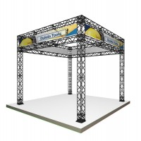 Trade Show Booth Gantry System - 3x3m