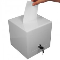 Lockable Suggestion Box