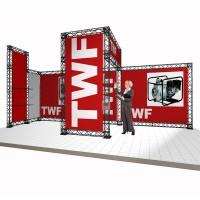 Modular Truss Exhibition Stand System - 6x3m