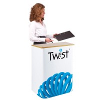 Twist Exhibition Counter