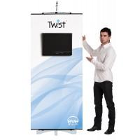 Twist Media Banner Stand