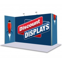 Vector Modular Fabric Display - Kit 5 3m x 1m