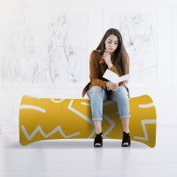 Inflatable Exhibition Bench