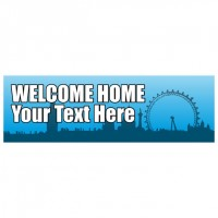 Welcome Home - Banner 189
