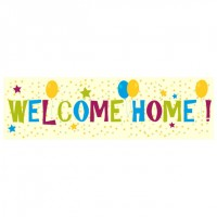 Banner - Welcome Home - 392
