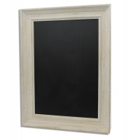 Distressed White Framed Chalk Wall Boards