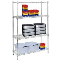 910 (h) x 1220 (w) x 610mm (d) Shelving