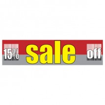 Sale % Off - Banner 154