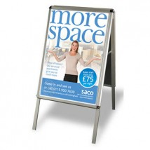 Double sided poster A board