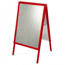 Colour Frame A-Board - Traffic Red