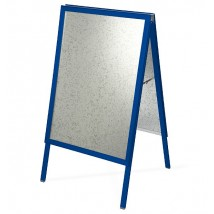 Colour Frame A-Board - Navy Blue