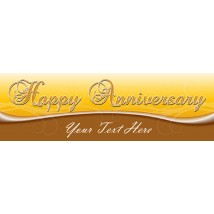 Happy Anniversary - Banner 218