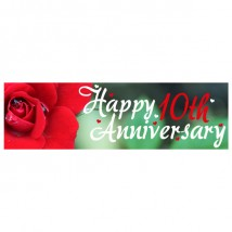 Banner - Happy Anniversary - 354