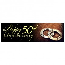 Banner - Happy Anniversary - 355