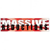Massive Reductions - Banner 201