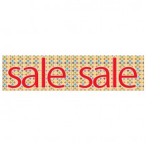 Sale Multi Coloured Diamond - Banner 202