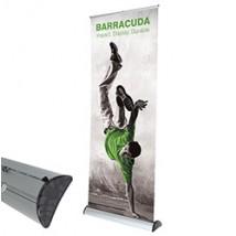 Baraccuda banner stands