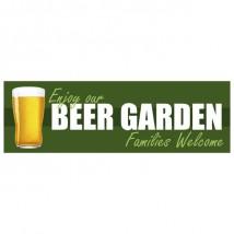 Beer Garden - Banner 109