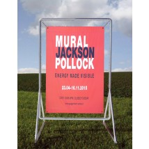 Tall Robust Outdoor Banner Frame