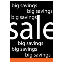 Big Savings Sale - Poster 156