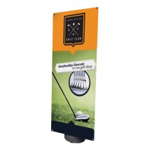 Blizzard Outdoor Tension Banner Stand Blizzard Outdoor Tension Banner Stand