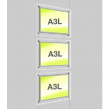 A3 Poster Light Pockets