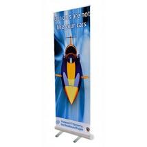 Budget roller banner