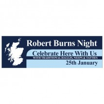 Burns Night - Banner 114