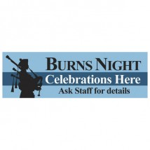 Burns Night - Banner 113