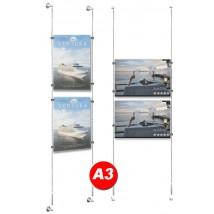 2x A3 Poster Holder Kit