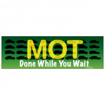 MOT While You Wait - Banner 117