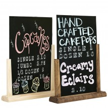 Slide-In Table Chalkboard