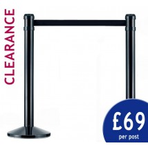 Cheap Black Belt Barriers